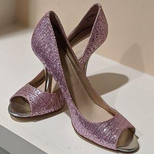 💖Pink Sparkle Heels